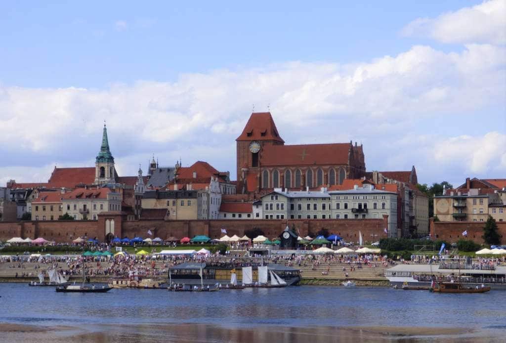 Rejs Średniowieczny port Toruń